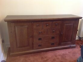 Low height sideboard. Excellent condition.