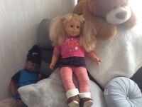 Lovely Smoby dolls.