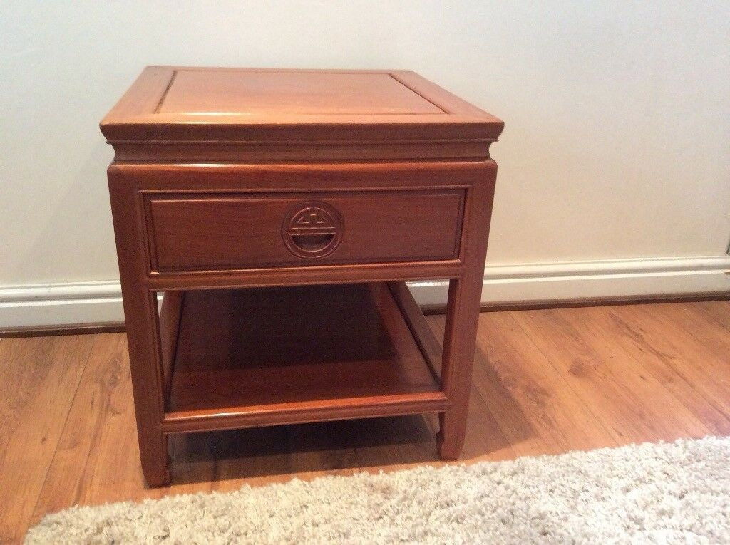 Rosewood Side Tables Bought In Hong Kong The Mid Eighties