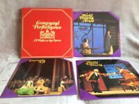 """Boxed set of 7 vinyl LP""""s Command Performance A Night at the Opera"""