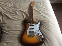 Fender Stratocaster with bare knuckle pickups
