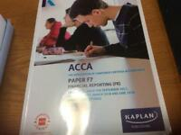 The association of chartered certified accounts paper 7