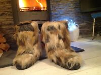 As New Faux Fur Snow Boots