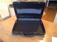 Samsonite Hard Shell Lockable Black Briefcase