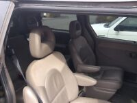 7seater leather seat Chrysler grand voyager mot 29th June 18