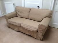 IKEA 2 seater Ektorp sofa in beige