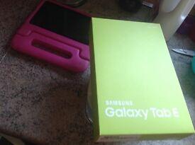 Sealed Samsung galaxy e4 tablet