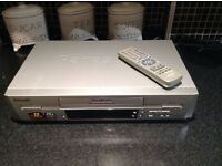Panasonic VHS Player/Recorder NV-SJ220B-S