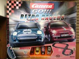 GT Carrera electric slot racing game mini scalextric