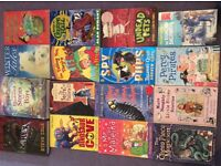 SELECTION OF 16 BOYS BOOKS