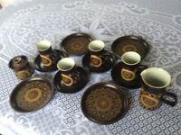 Denby Arabesque 14 Piece Tea/Dinner Set