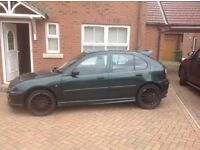 Rover 25 impression for sale or repair it needs a new complete door and a bit of electric work