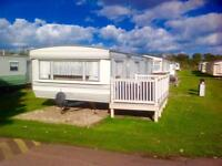 Cheap static caravan for sale at Sunnydale Holiday Park near Mablethorpe and Skegness.