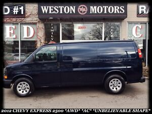 2012 Chevrolet Express 2500*AWD *AWD *AC *UNBELIEVABLE SHAPE *OF
