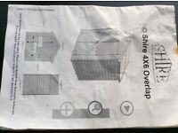 New 6 x 4 shire shed, never used