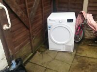 Tumble dryer.8kg condensor.can deliver