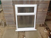 Three UPVC double glazed Windows