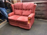 Cottage style settee just 12 months old
