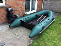 Inflatable Dinghy Boat BARK BT-330 with engine