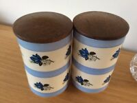 Arthur Wood Vintage storage jars £15 pair
