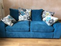 Large two seater sofa from sofa works excellent condition