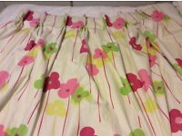 Full length and fully lined heavy curtains for sale