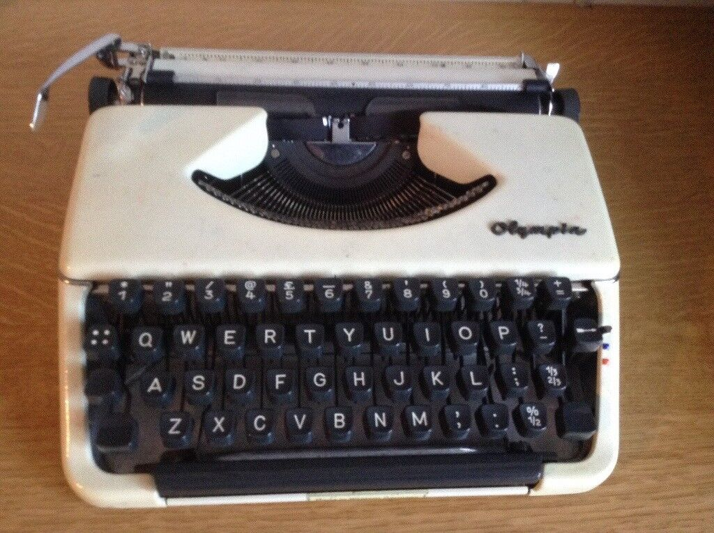 Olympia Werge Typewriter