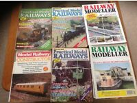 24 model railway magazines