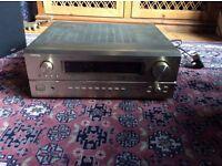 Denon precision and audio component/ AV surround receiver, AVR-3802