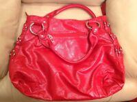 Abbacino leather tote/ handbag