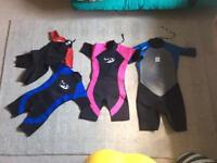 Summer Wet Suits