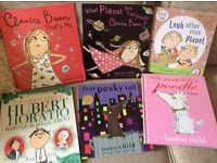 Julia Donaldson & Lauren Child children's books x12