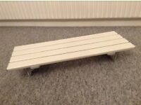 Bath Board Seat and Pedal Bike Exerciser. Excellent Condition.