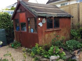"""Garden wooden shed/chalet style 8""""x8"""" for sale"""