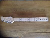 22 fret Guitar neck with Machine heads