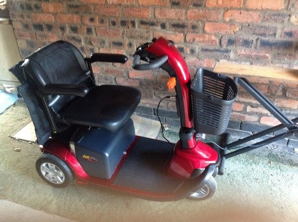 Pride Colt Twin Mobility Scooter Reduced Price In