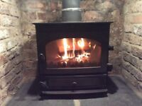 Wood burning/ multi fuel stove. Output 5kW/hr