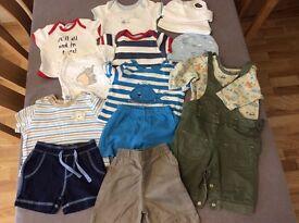 Boys baby bundle 0-3 mths