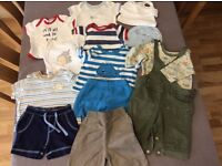 Boys baby bundle 0-3 mths