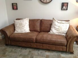 4 seater sofa from dfs only 1 year old excellent condition New £800 for sale £250ono