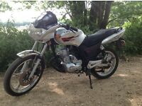 125cc motorbike 12months mot