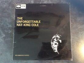The Unforgettable Nat King Cole - Vinyl LP 1964