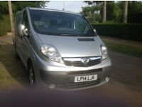Vauxhall Vivaro SWB finished in Silver