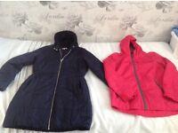 Girls blue zoo navy coat