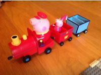 Peppa pig princess train in excellent condition