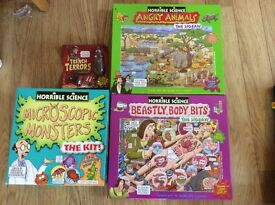 Horrible science toys for sale £5 each