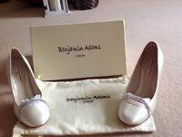 Wedding Ivory Bridal Shoes Benjamin Adams