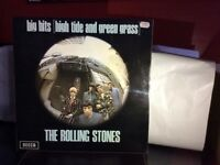The rolling Stones vinyl album big hits high tide green grass