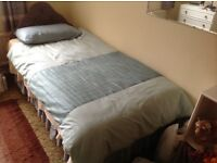 Single Bed with headboard etc