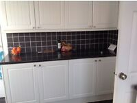 Kitchen doors - double oven - electric hob for sale
